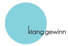 klanggewinn (logo)
